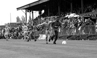 Wimbledon - Roger Joseph and Gary Bannister (Coventry City) at Plough Lane