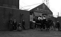 Oldham Athletic - Mounted Police at Boundary Park