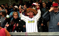 Fan wearing sombrero at Chester City