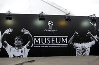 Champions League Museum Hoarding