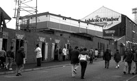 Oldham Athletic - Boundary Park Turnstiles and Main Stand