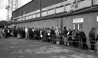 Stoke City - Fans queue for the Boothen End prior to the final match at the Victoria Ground
