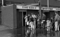 Stoke City - Fans queuing before the final game at The Victoria Ground