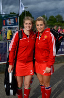 Sarah Haycroft and Georgie Twigg representing GB